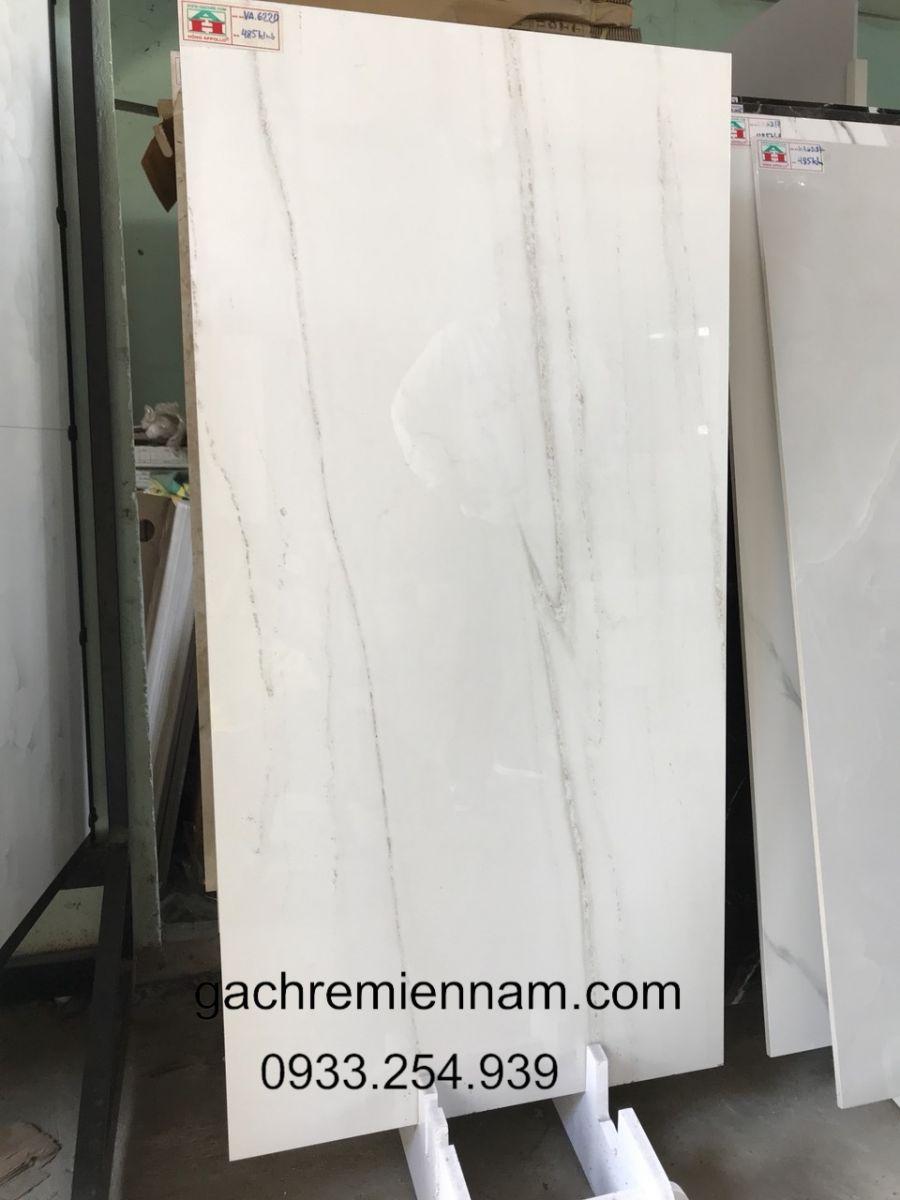 Gạch lát nền 60x120 Ấn Độ, Gạch ốp tường 60x120 Ấn Độ 6220 Tukey White