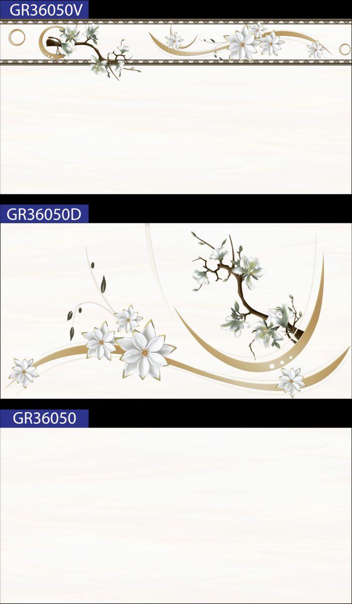 GẠCH ỐP TƯỜNG 30X60 MÀU KEM TRƠN GR36050