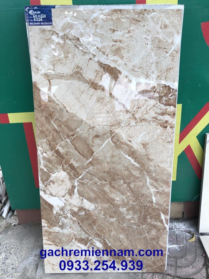 Gạch Ấn Độ 60x120 Croma Brown 6226